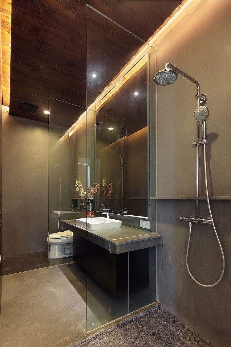 83 Ideen Fur Indirekte Led Deckenbeleuchtung Und Schone Lichteffekte Deckenbeleuchtung Modernes Badezimmer Duschdesigns