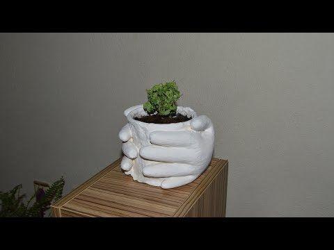 Dokonywanie Doniczki Z Rękawiczkami Youtube Domowy