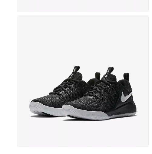 43f3893b5eabd Womens Volleyball Shoe Nike Zoom HyperAce 2 Black White AA0286-001 New in  box