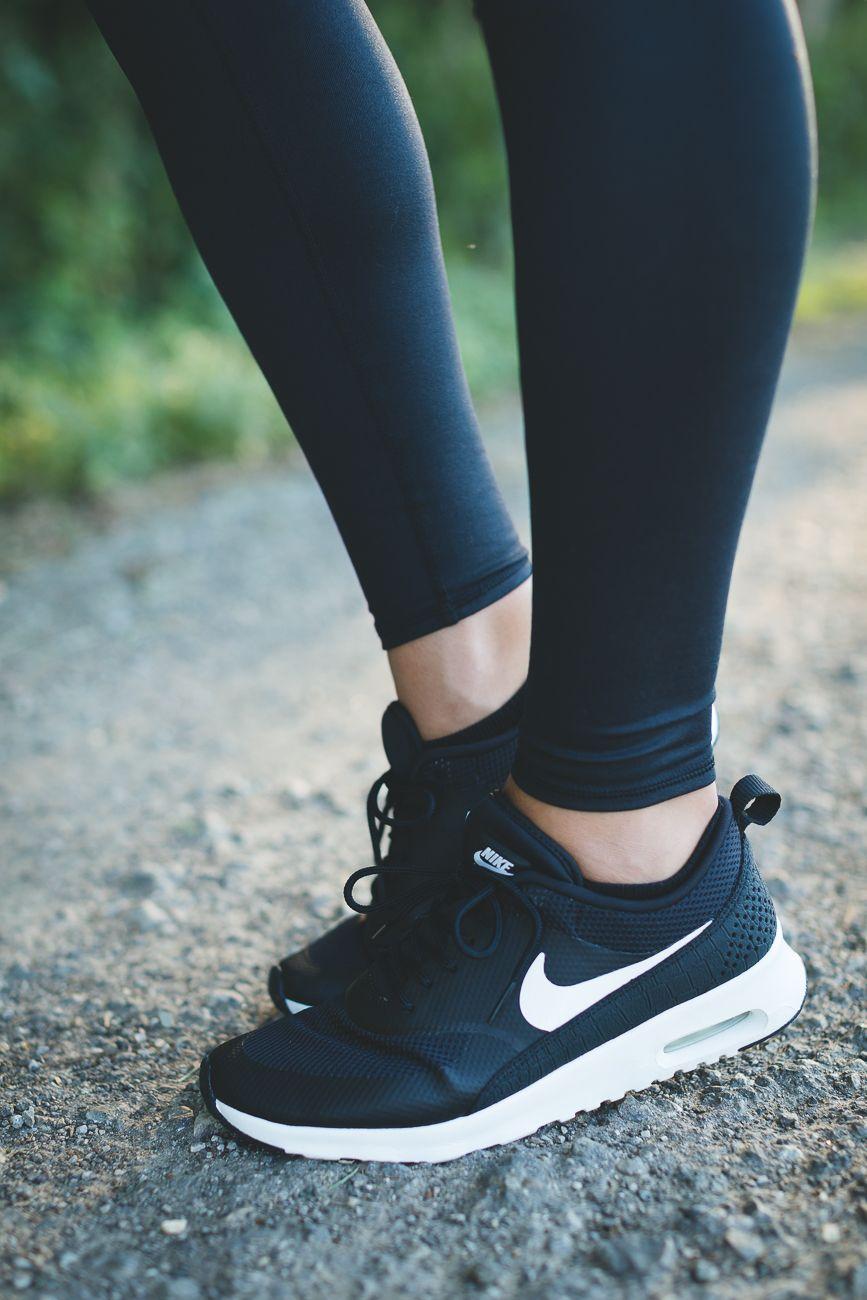 brand new 32cad 7d2d1 Black Sports Shoes, Black Nike Sneakers, Cute Sneakers, Shoes Sneakers, Air  Max