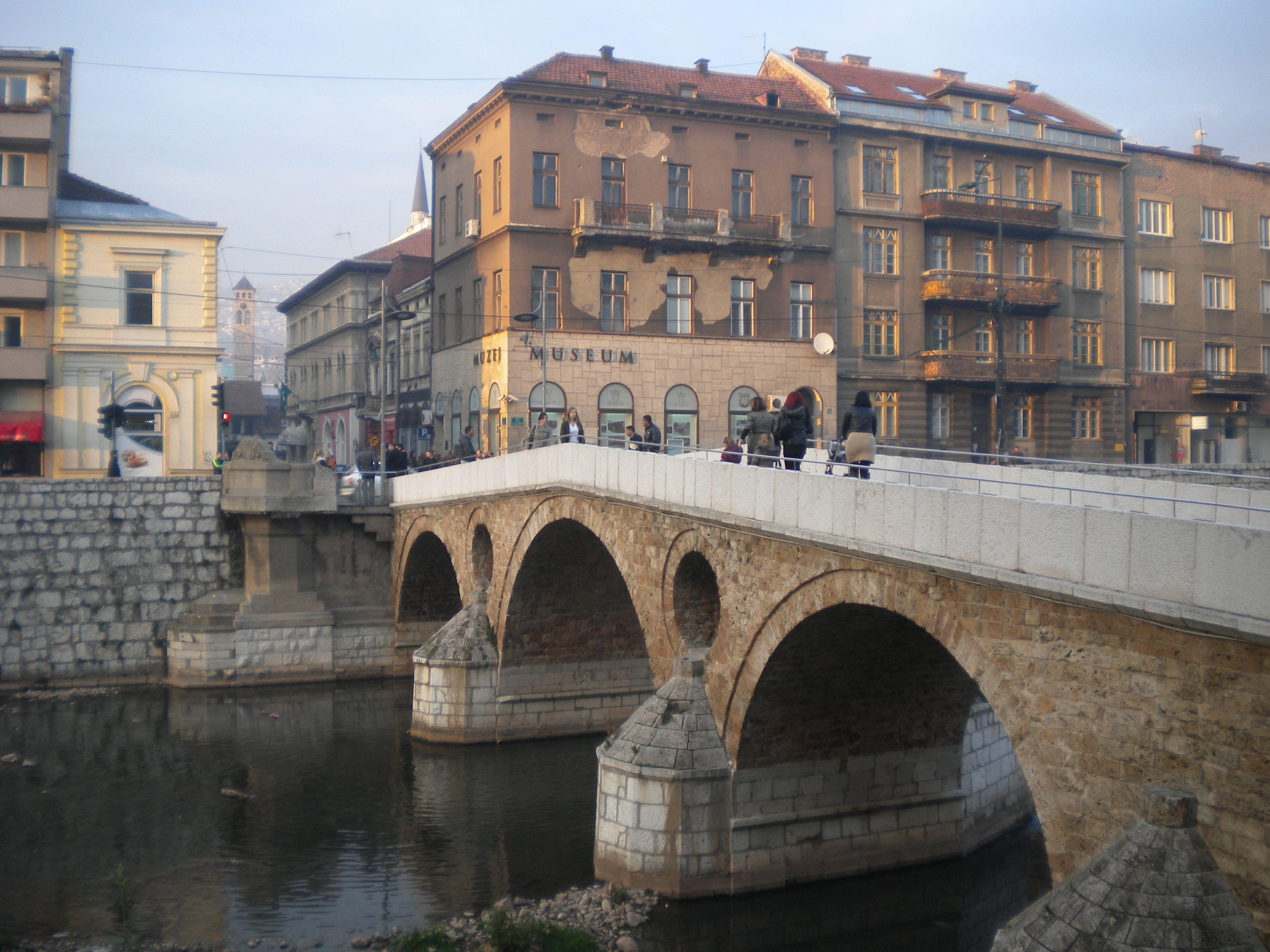 Latin Bridge The Assassination Spot Of Archduke Franz