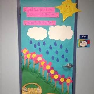 Spring door decorations classroom - Bing Images & Spring door decorations classroom - Bing Images | Spring School ...