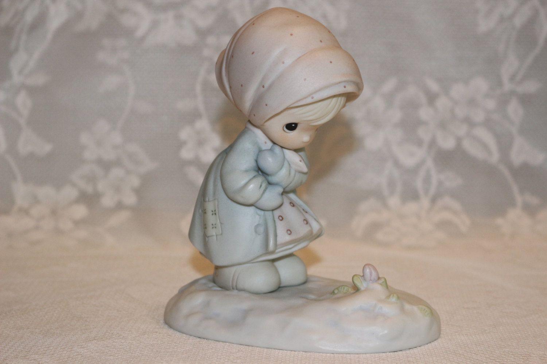 Home interior jesus figurines precious moments porcelain february  enesco figurine of the