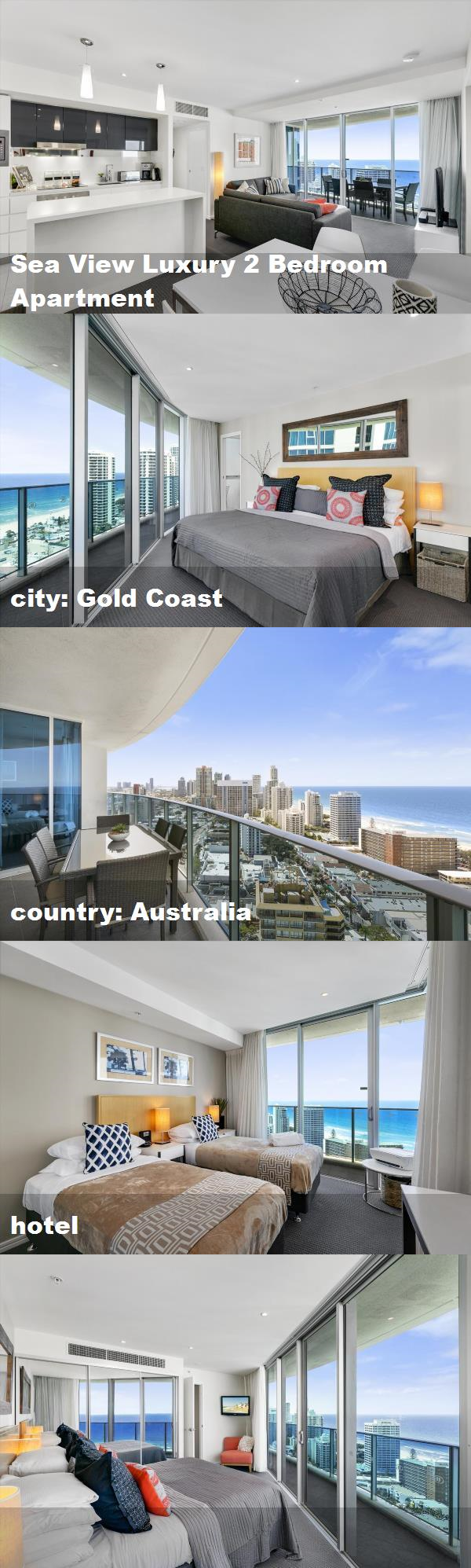 Sea view luxury bedroom apartment city gold coast country