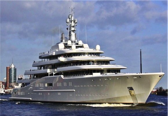 The Eclipse Civilian Boats Power Yacht Boat Super Yachts