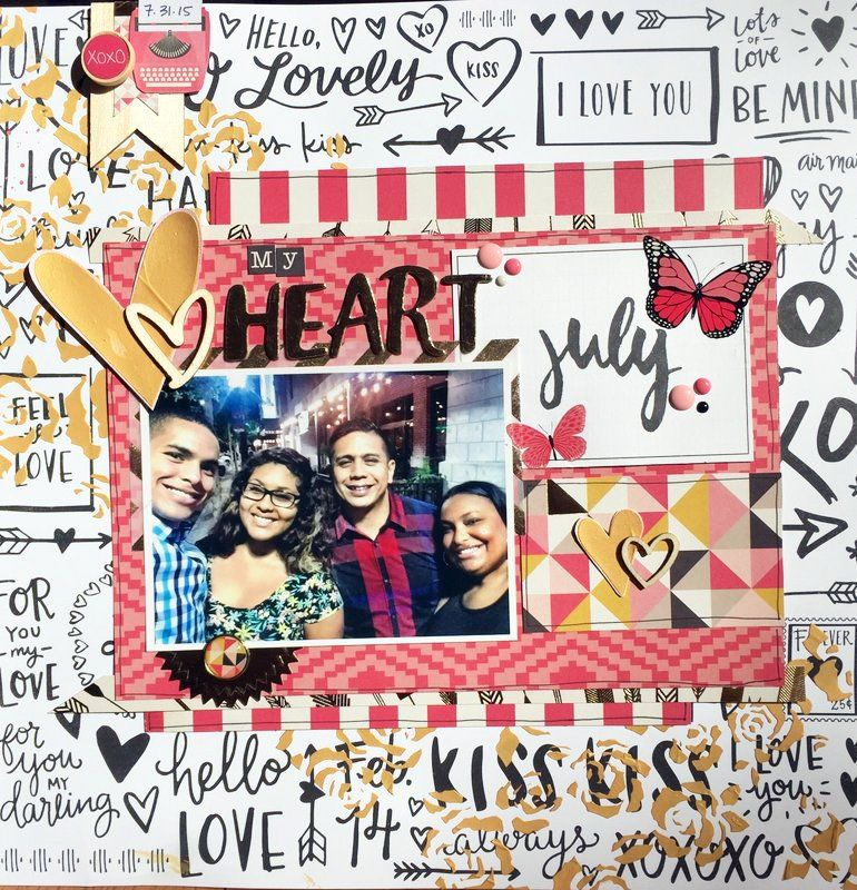 14 Valentine's Day Layouts to Love