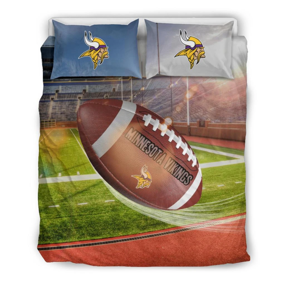 Pro Shop Sunshine And Raining Minnesota Vikings Bedding