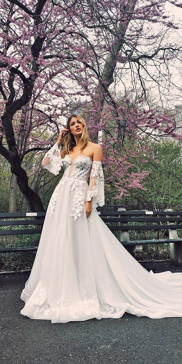 3ee13b5bc2 Top 30 Designer Wedding Dresses 2018 ❤ See more  http   www.