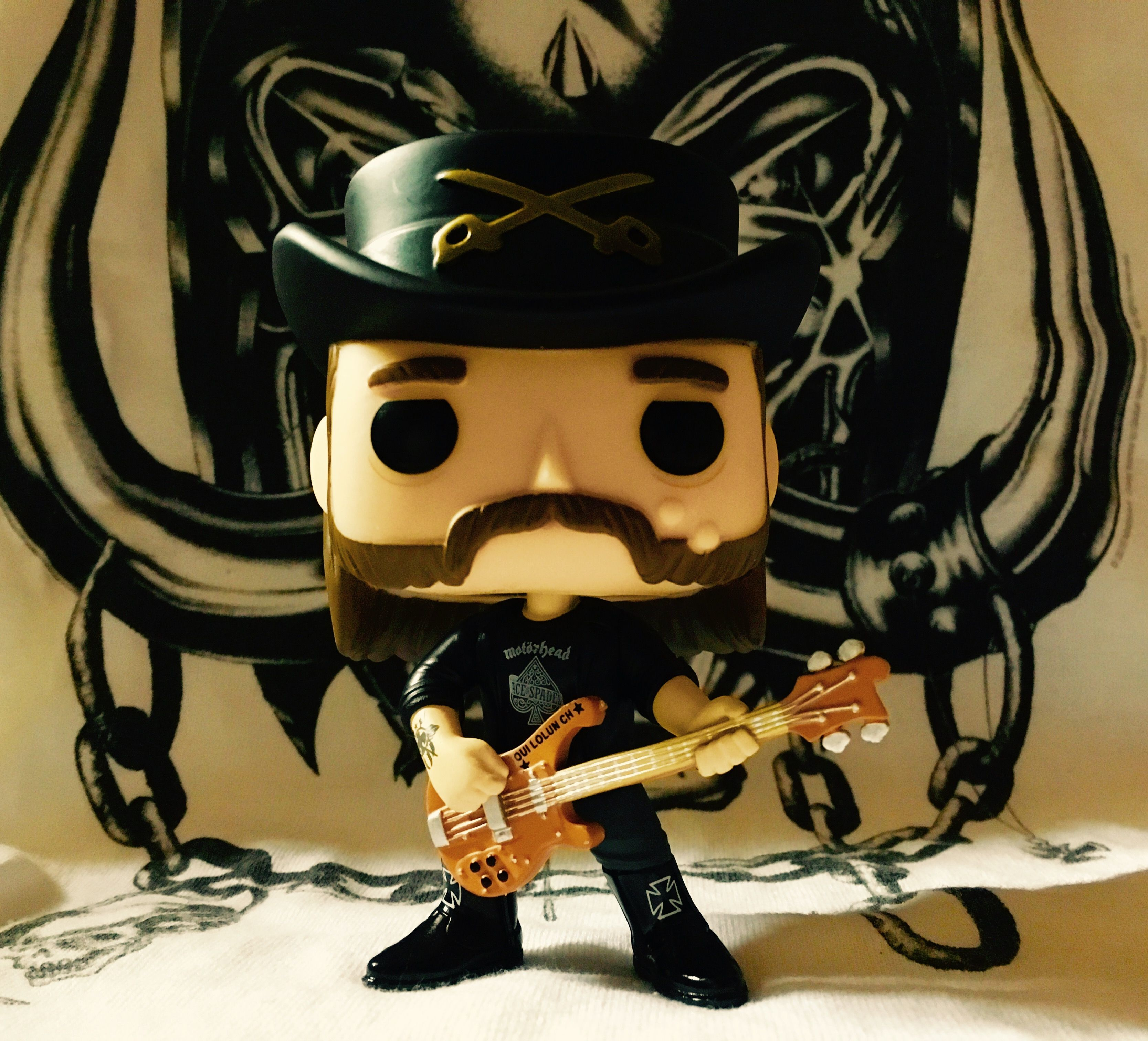 Funko POP Rocks Lemmy Kilmister Action Figure Motorhead Metalhead Heavy metal