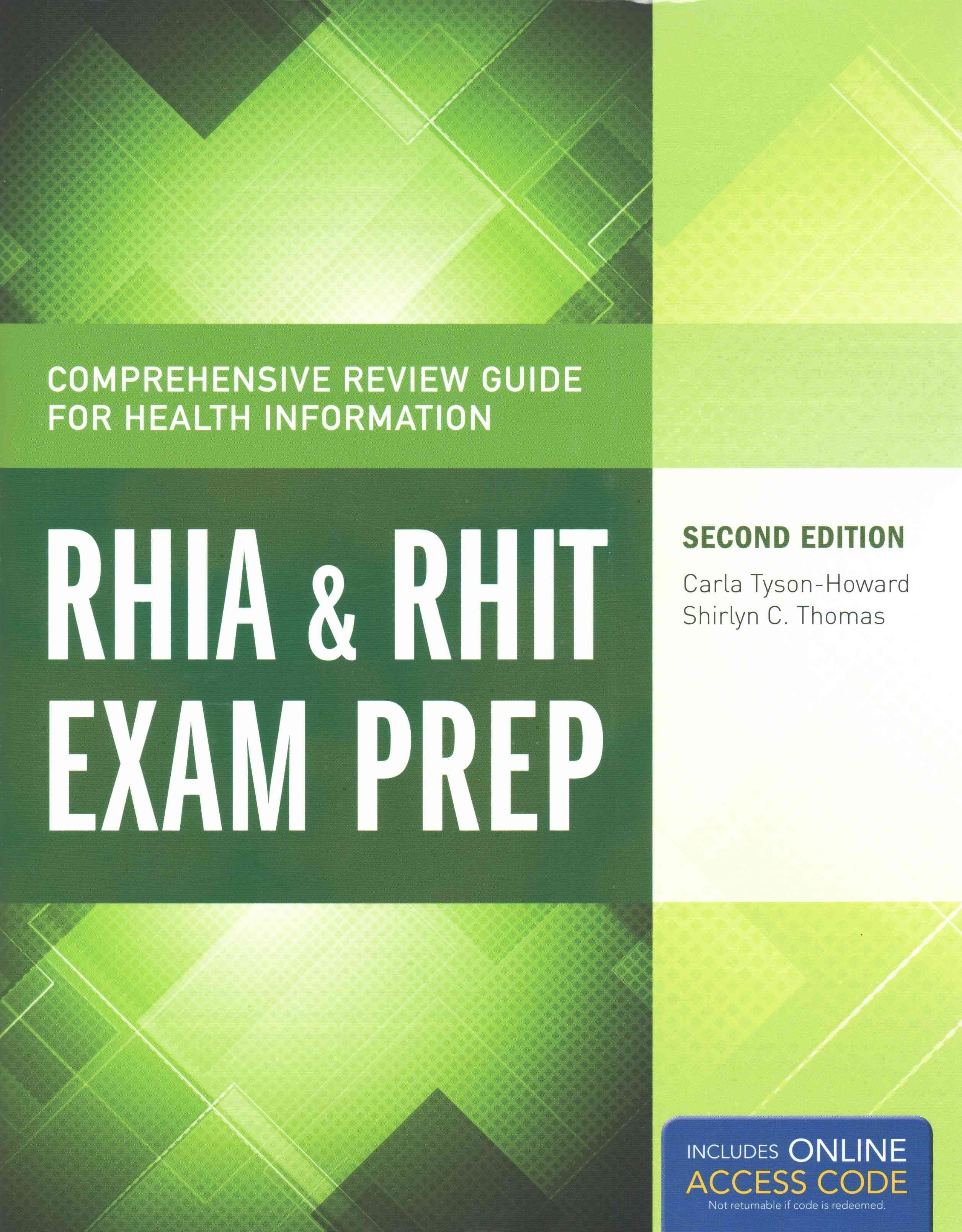 The Comprehensive Review Guide For Health Information Rhia Rhit