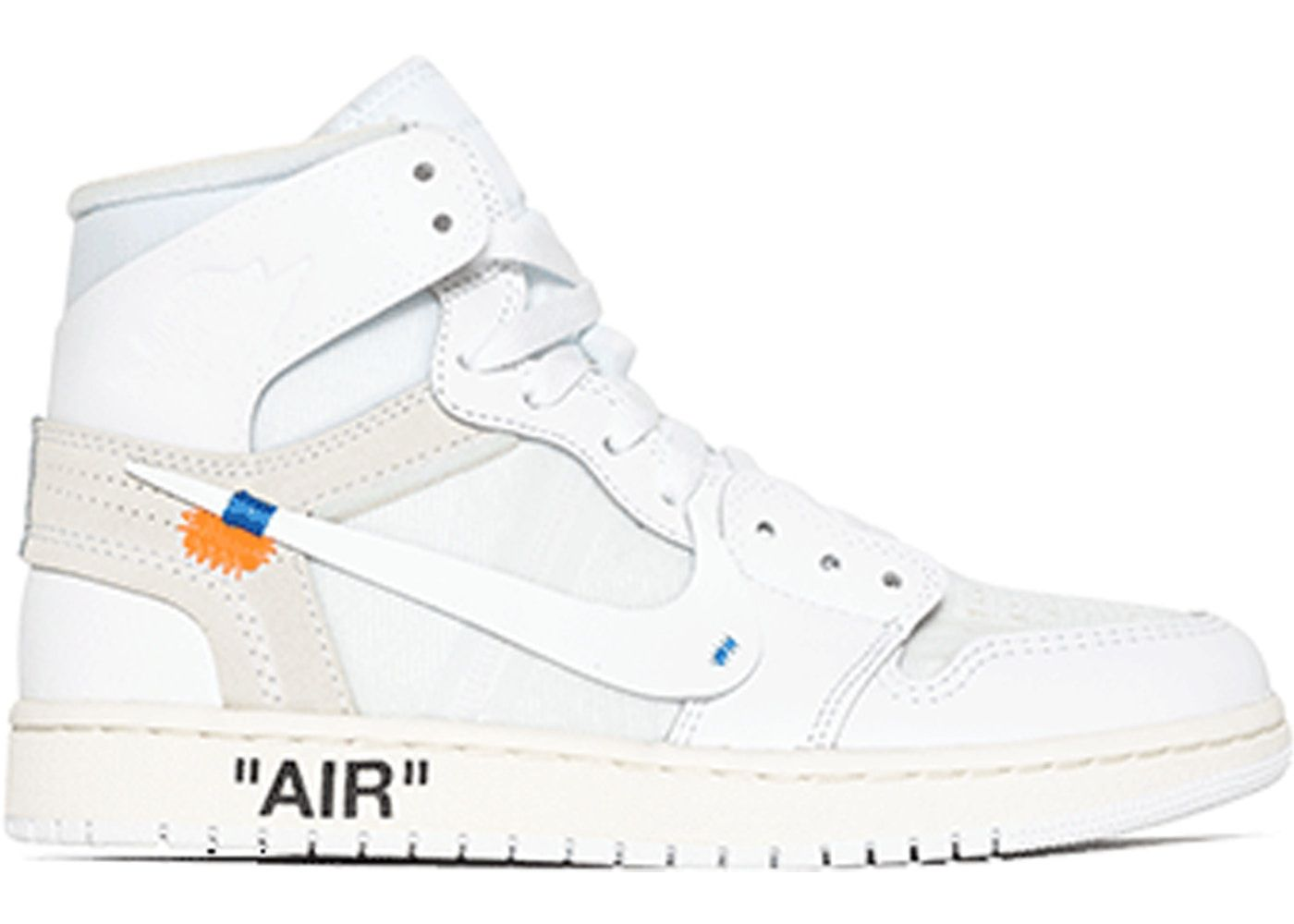 Check out the Jordan 1 Retro High Off-White White (GS) available on StockX aaa71f5f7