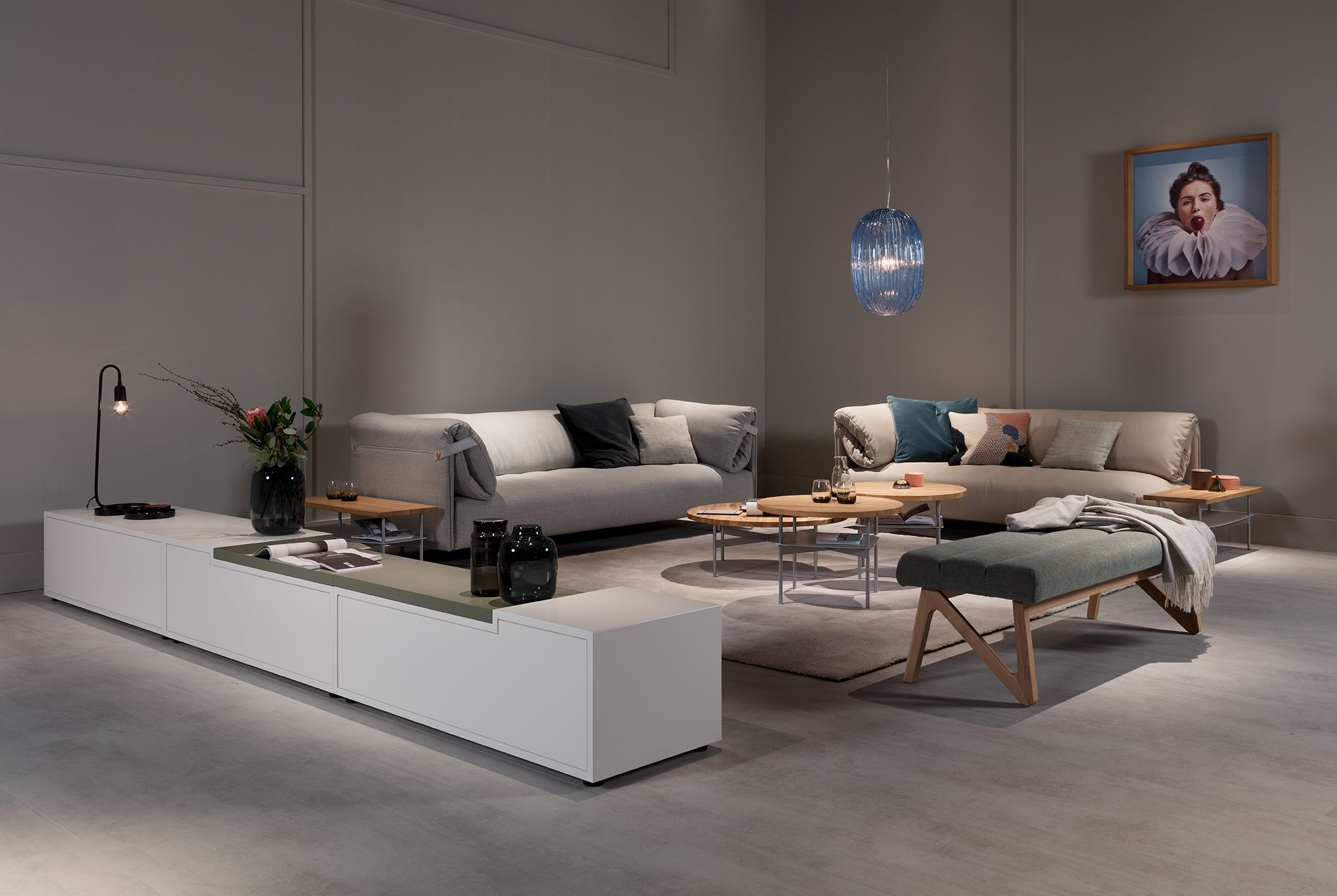 Rolf Benz Alma Sofa At Immcologne2018 Designed By Beckdesign
