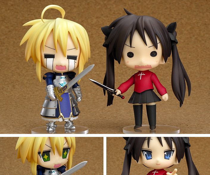 The Nendoroid Lucky ☆ Star Fate Cosplay set