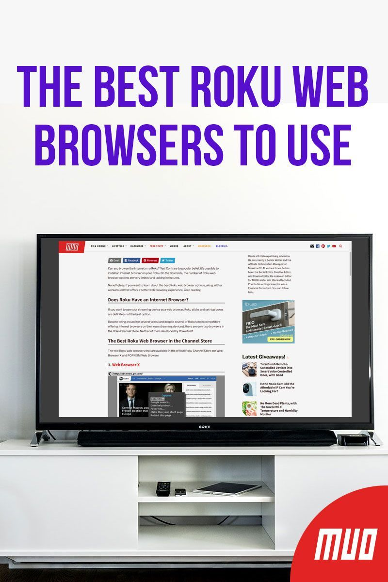 The Best Roku Web Browsers to Use Web browser, Roku