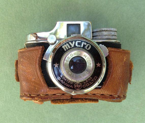 Mini Camera Hidden Brown