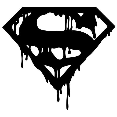 Superman Doomsday Die Cut Vinyl Decal PV Car Truck Window - Cool vinyl decals