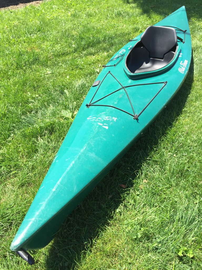 Old Town Loon 120 w/extras « Kayak Trader | Touring Kayaks