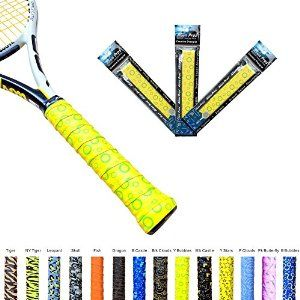 Amazon Com Alien Pros X Tac Tennis Overgrip Tape Perfect For Your Tennis Racket Racquetball Grip Squash Racquet And Mo Squash Racquets Tennis Tennis Racket