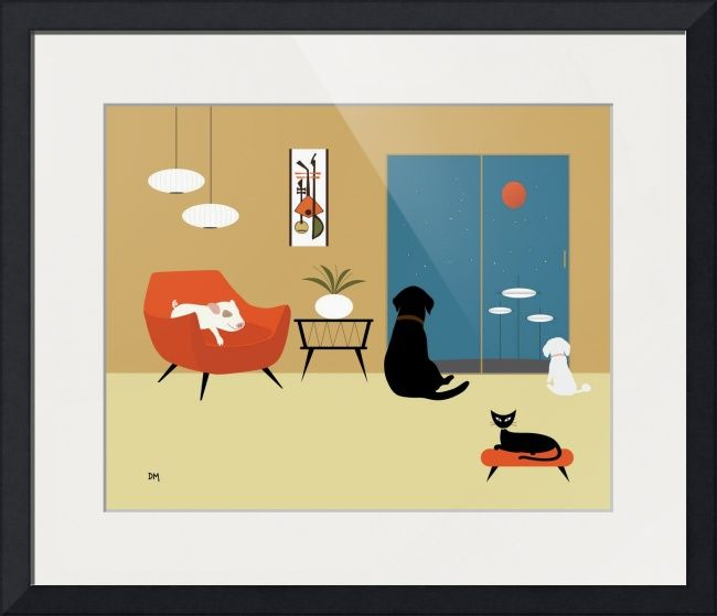 Mid Century Modern Animals\