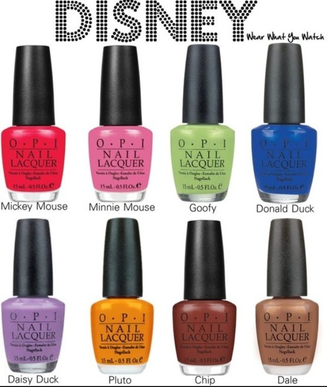 Disney inspired nail polish from OPI | Nails Obsession | Pinterest ...