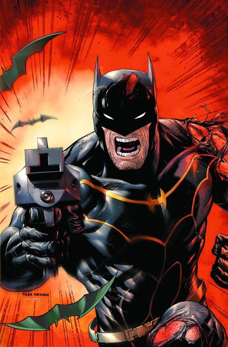 Batman rebirth not a gun a grappling gun
