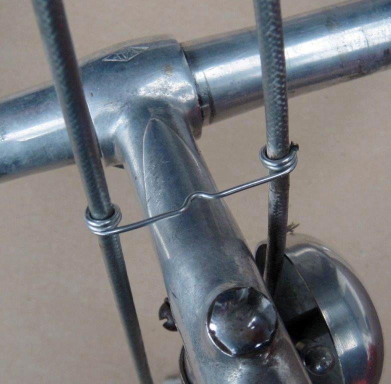 Vintage Style Wire Non Aero Brake Cable Guide Retro 50s