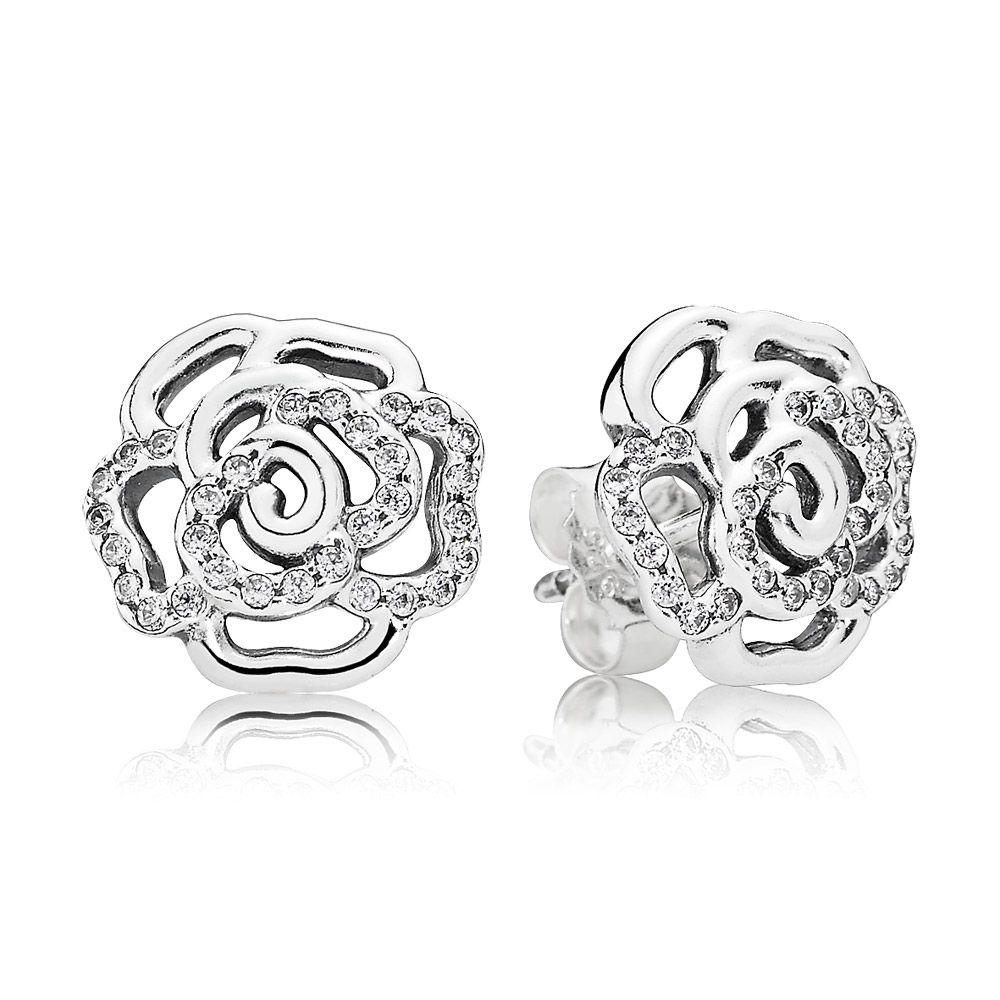 bijoux d'oreilles pandora