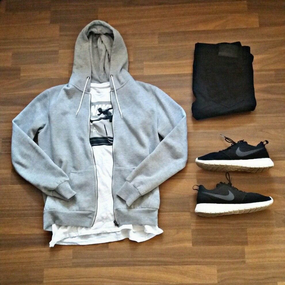 Nike roshe run one outfit for men | Urban style outfits ...