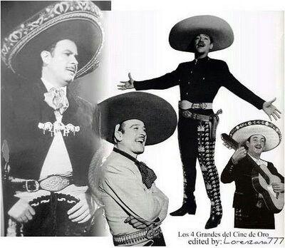 Los 4 Grandes Cine De Oro Mexicano Pedro Infante Fotos De Pedro Infante