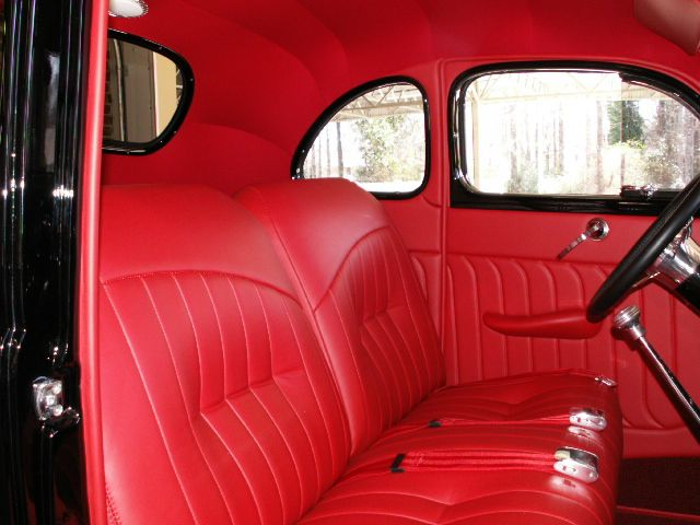 1940 Ford Coupe Custom Red Leather Interior 1940 Ford Coupe 1940 Ford Coupe