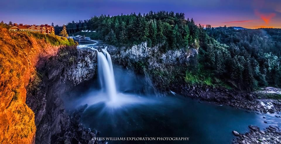 Snoqualmie Falls! Chris Williams Exploration Photography