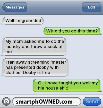 Dobby Is Free Harry Potter Texts Harry Potter Memes Hilarious Harry Potter Funny