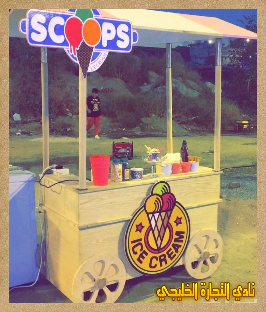 تحقيق الأرباح من مشروع كشك أيس كريم في السعودية بالتفاصيل الكاملة Ice Cream Parlor Ice Cream Cream