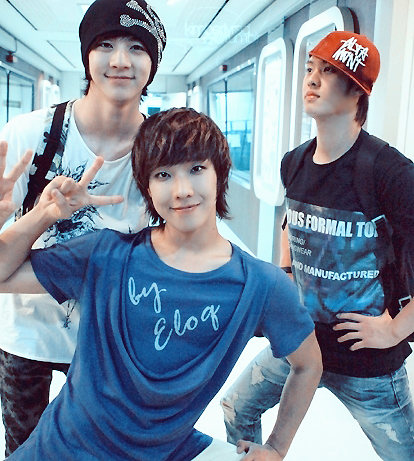 MBLAQ's Cheondung, Joon, and Seungho :) I love this picture!