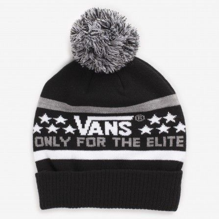 Vans Black/Heather Multi Elite Beanie