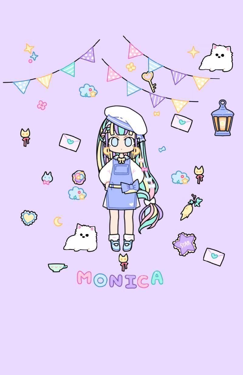 Monica Kawaii Wallpaper Anime Chibi Chibi Characters