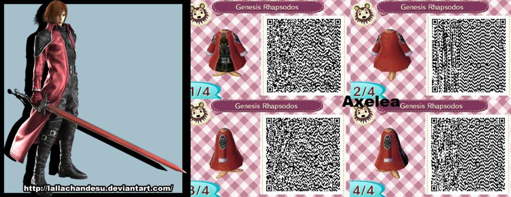 Acnl Genesis Rhapsodos Qr Code By Lallachandesu Animal Crossing