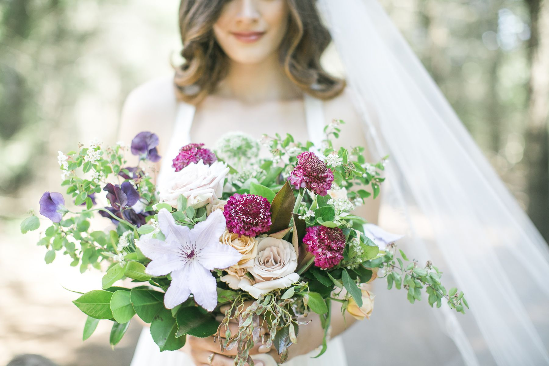 Whimsical inspiration in the middle of a forest forest wedding