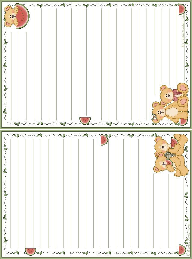 Free Printable Note Paper Çizgili Defter Pinterest Note paper