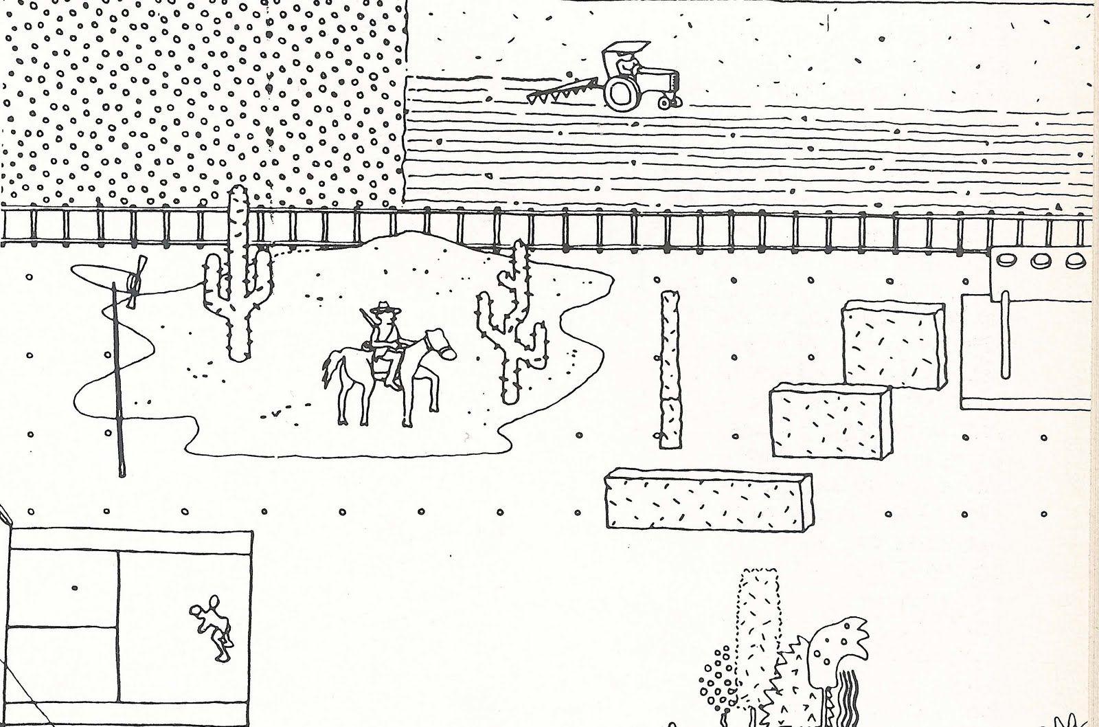 oma parc de la villette diagram labled of the eye rem koolhaas early sketches p r e s n t a i o