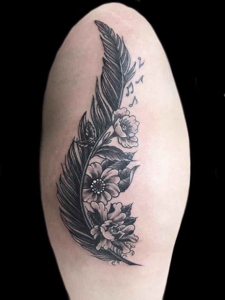 Pin de Jenjenvd en Tattoos Pinterest Arte tatuajes, Tatuajes y Arte - tatuajes de plumas