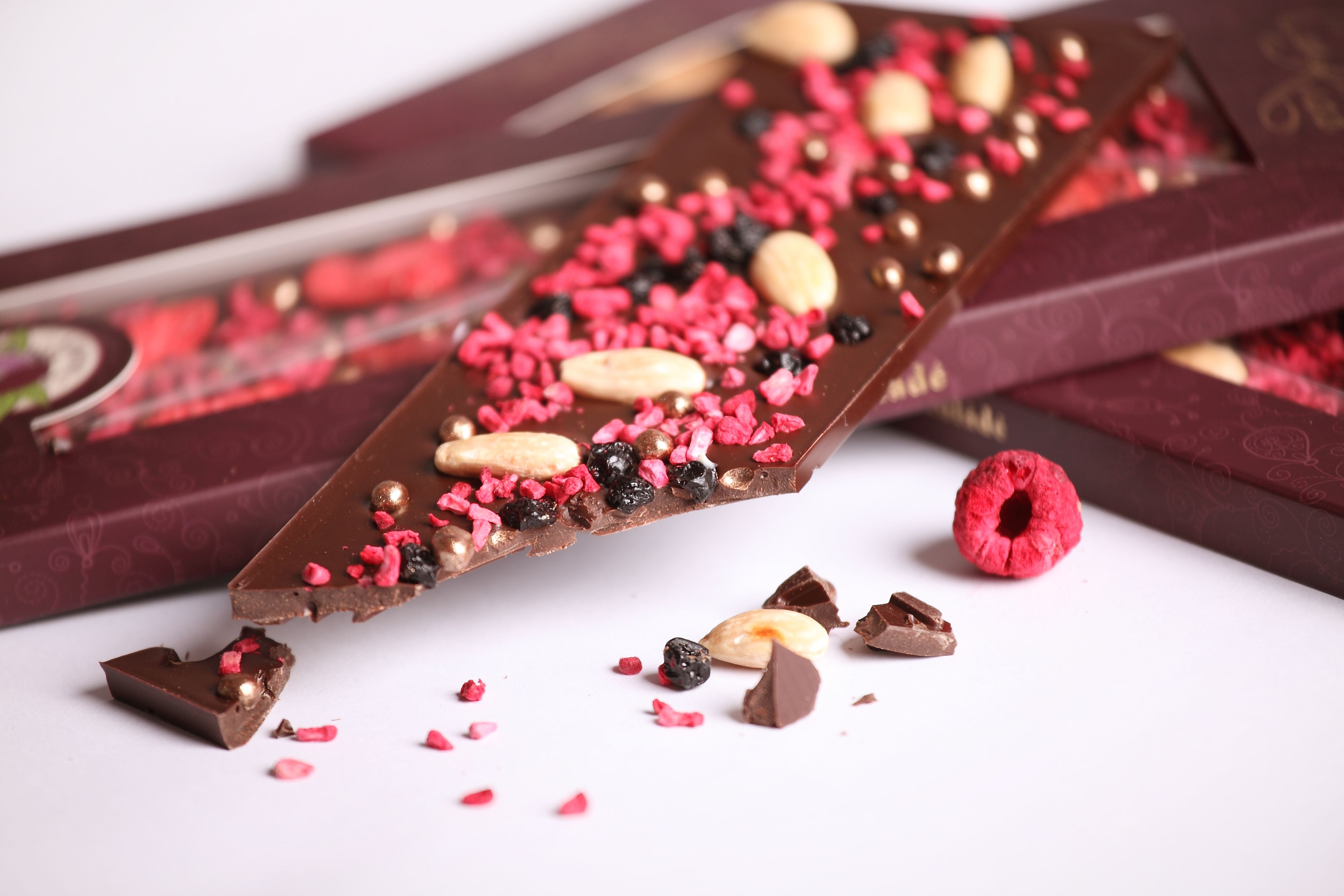 Beautiful Chocolate Bar Food Styling By Rita Szabo Photo By Arpad