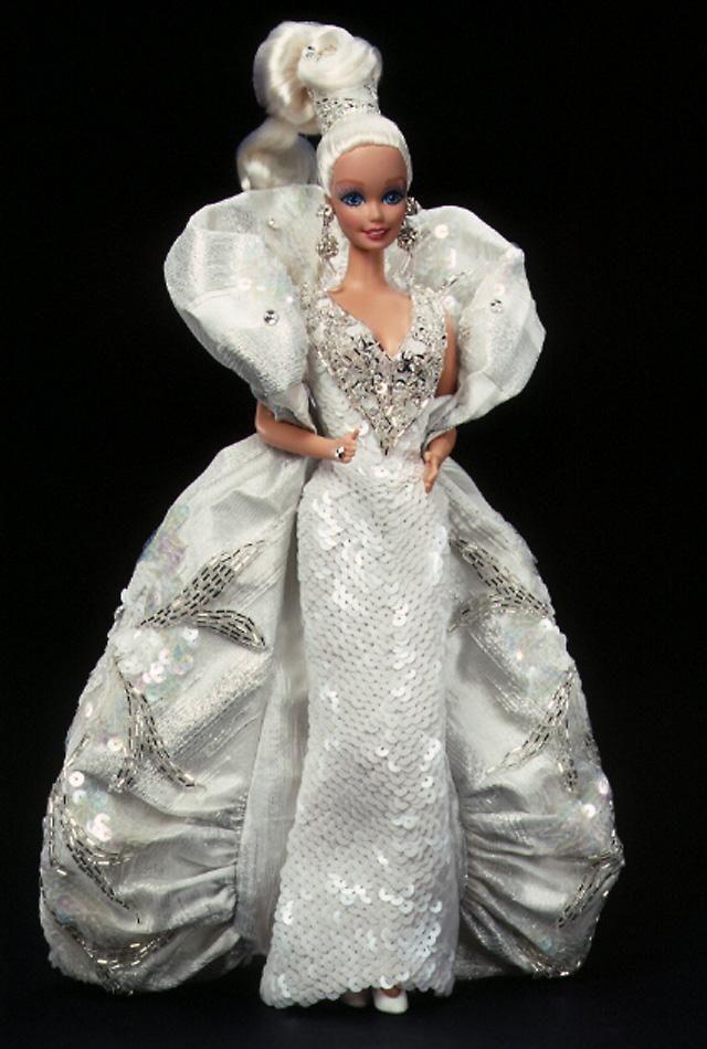 Bob Mackie Platinum Barbie Doll I Own This Doll Love Bob