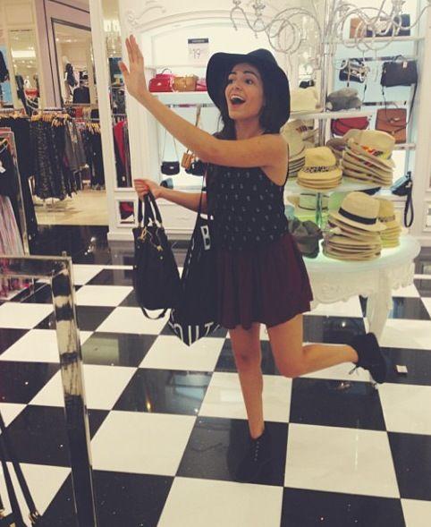 She's so funny, I love her <3