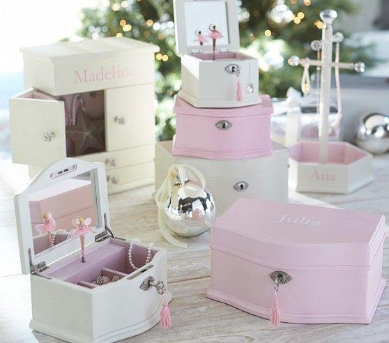 Abigail Small Jewelry Box | Pottery Barn Kids...we had the ...