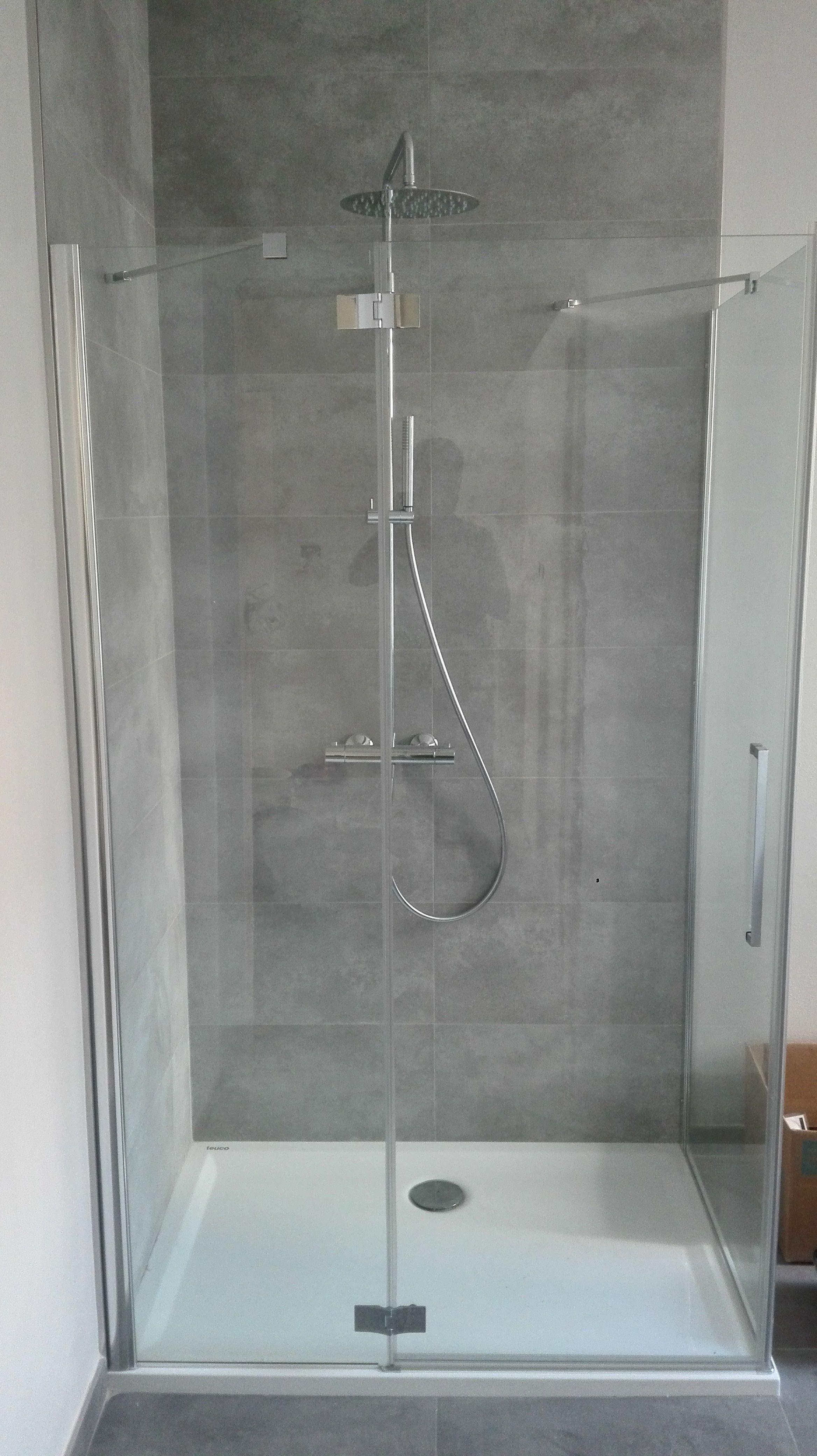 Minimal shower.box doccia TDA e colonna doccia F.lli