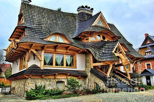 Photo of Wooden Cottage, Poland – #cottage #poland #wooden – #new