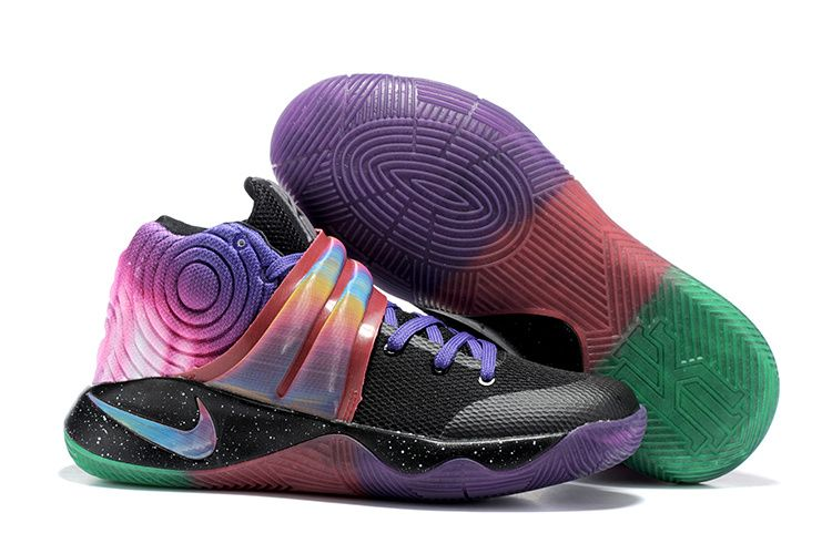 best sneakers 02926 68d2f NIKE Kyrie Irving 2 Effect Tie Dye Basketball Shoes AAAA-041