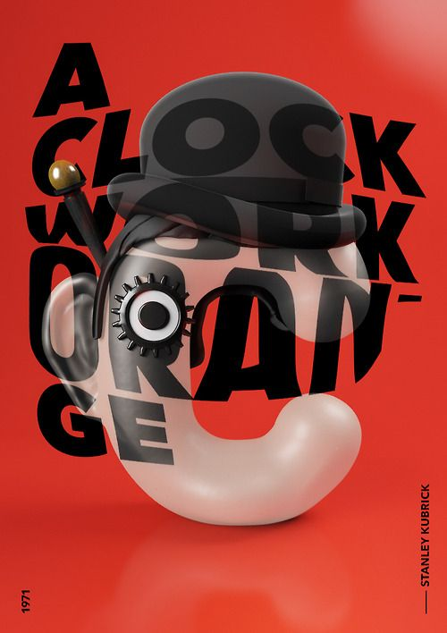 C is for (the) Clockwork Orange.