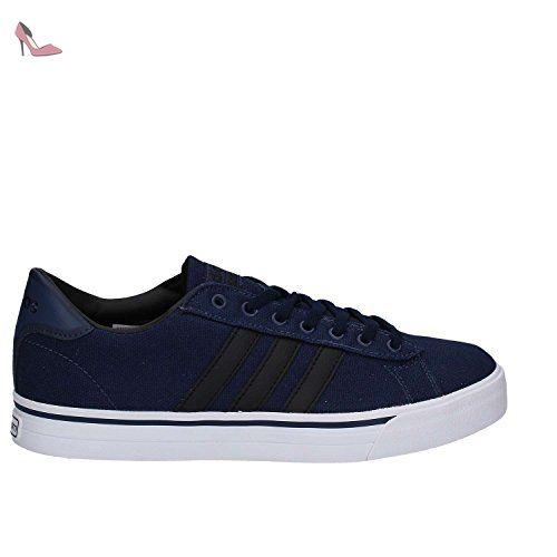 adidas Cloudfoam Super Daily, Chaussures de Tennis Homme, Bleu (Maruni/Negbas/Ftwbla), 40 EU